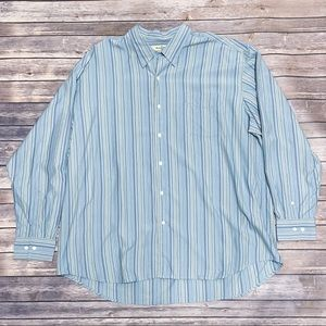 Tommy Bahama Silk Button Down Stripe Long Sleeves